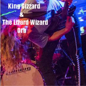 King Gizzard & The Lizard Wizard and Orb @ The Metro, 4/08/2016 Photography by SimoneFisher