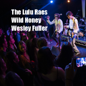 The Lulu Raes, Wild Honey & Wesley Fuller @ Northcote Social Club, Melbourne, 15/09/16, Photography by Joe Tevaga